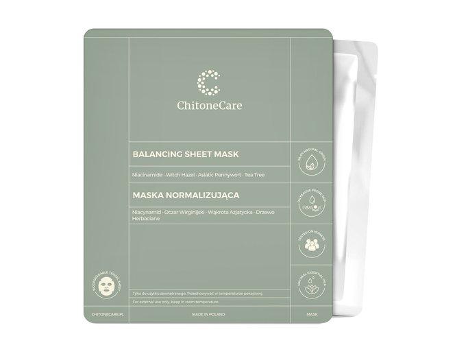 Maska Normalizująca/Balancing Sheet Mask 23ml